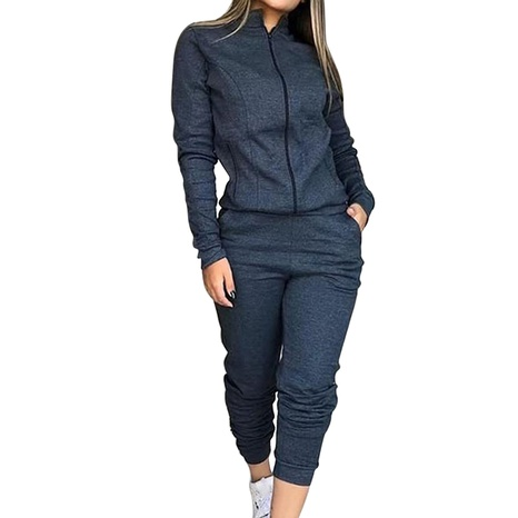 new leisure simple two-piece suit NHIS307280's discount tags