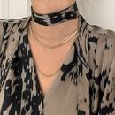 new fashion lace Vneck leopard print shirt NHJG307277