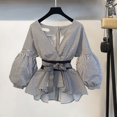 New fashion casual waist blouse NHJC307269's discount tags