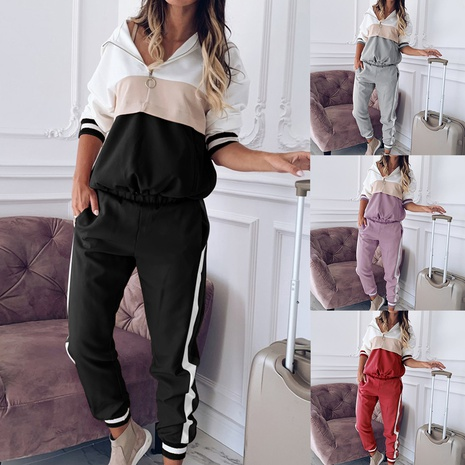 new fashion hooded sweater suit two-piece suit NHIS307264's discount tags