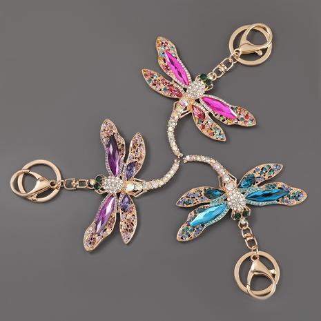 porte-clés libellule en alliage de diamant NHJE307379's discount tags