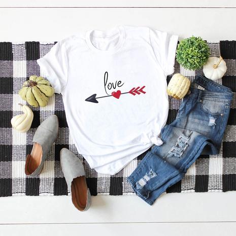 T-shirt d'amour de la Saint-Valentin NHSN307410's discount tags