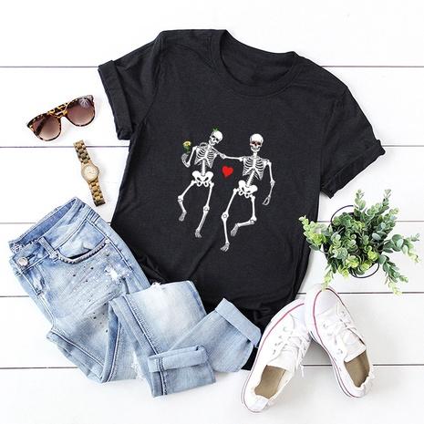Valentine's Day love skulls t-shirt  NHSN307416's discount tags