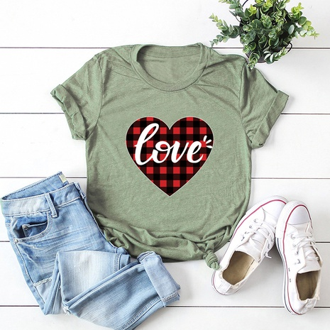 Valentine's Day love t-shirt  NHSN307420's discount tags
