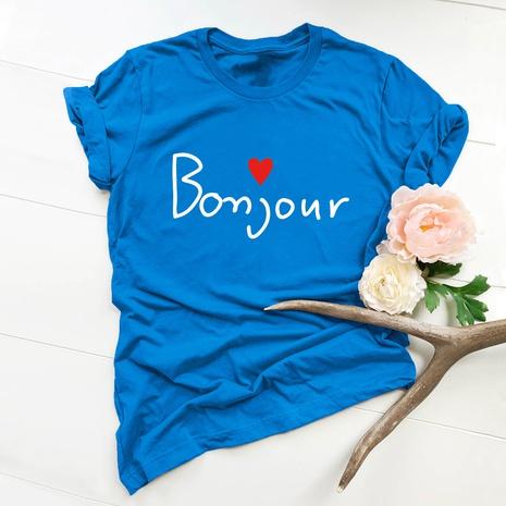 T-shirt lettres de la Saint-Valentin NHSN307422's discount tags