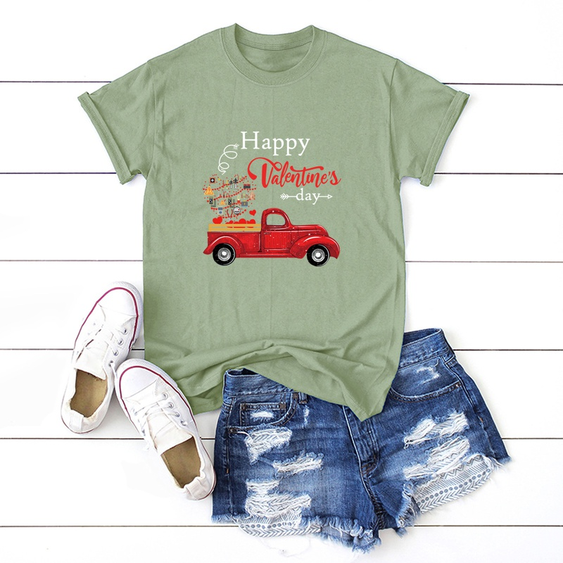 Valentine's Day Car T-Shirt NHSN307424