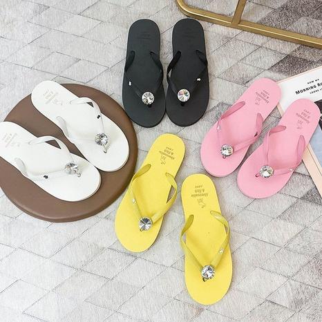 nouvelles tongs chaussures à semelle souple en pvc coréen NHPE307643's discount tags