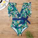 nouveau bikini imprim sexy multicolore simple NHHL307686