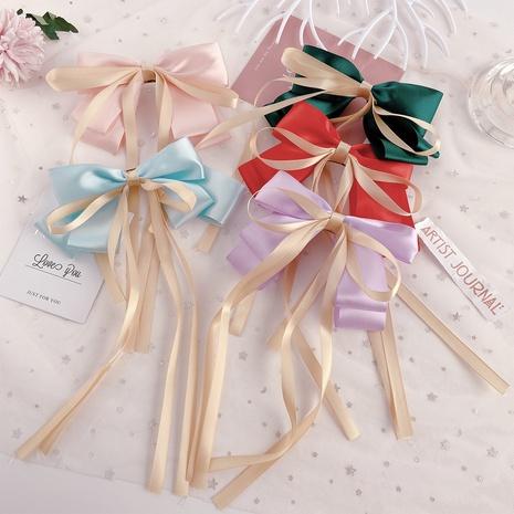 horquilla de lazo de cinta de hilo de color caramelo NHPJ307748's discount tags