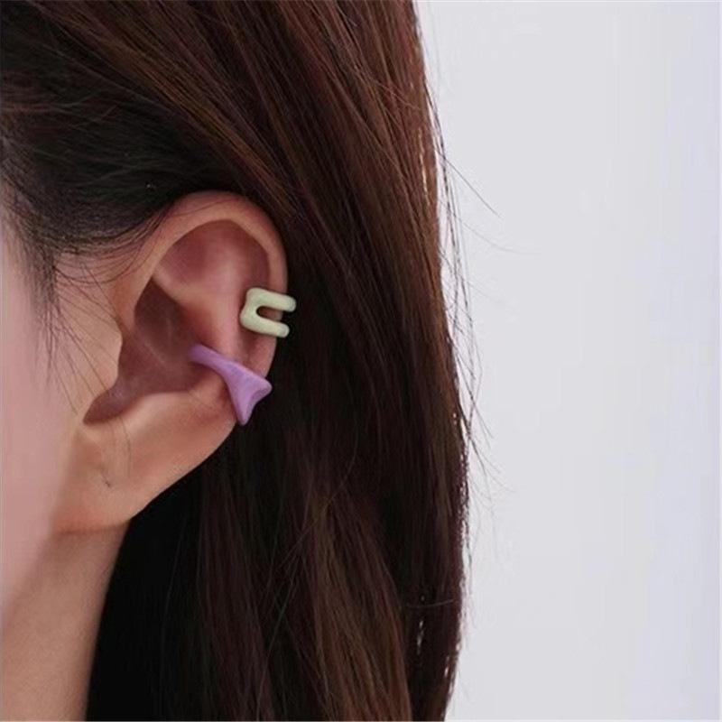 Korean fashion dripping oil cute earrings  NHYQ307778