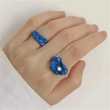 fashion irregular opening ring NHYQ307779's discount tags