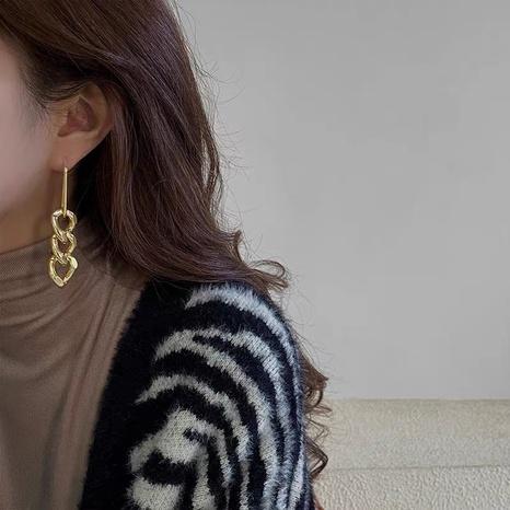 long metal chain earrings  NHYQ307796's discount tags