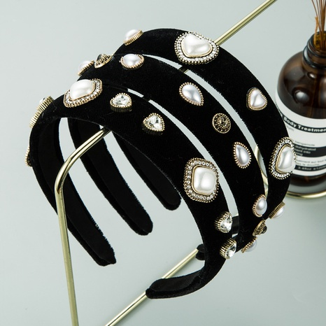 Herzförmiges Perlenstirnband aus exquisitem Flanell aus Aluminium NHLN307836's discount tags