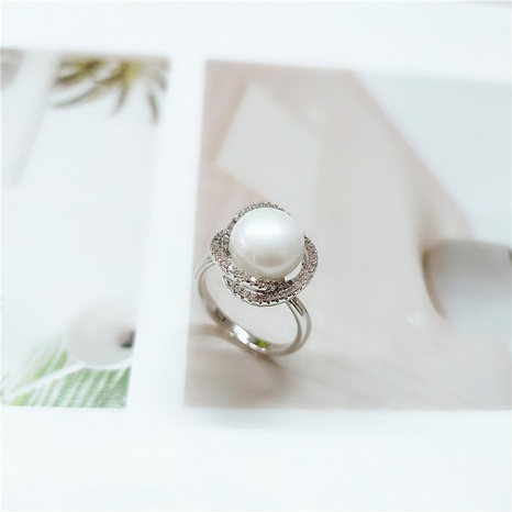 new fashion pearl ring  NHVA307845's discount tags