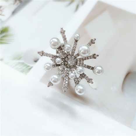 flower simple opening ring NHVA307846's discount tags