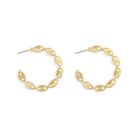 fashion metal C-shaped retro earrings NHJQ307857's discount tags