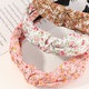 new fashion chiffon printing headband set NHNU307866