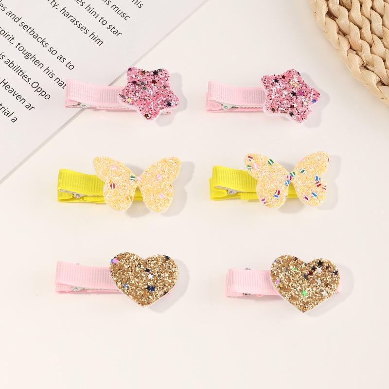 new star butterfly love cute clip set NHNU307867