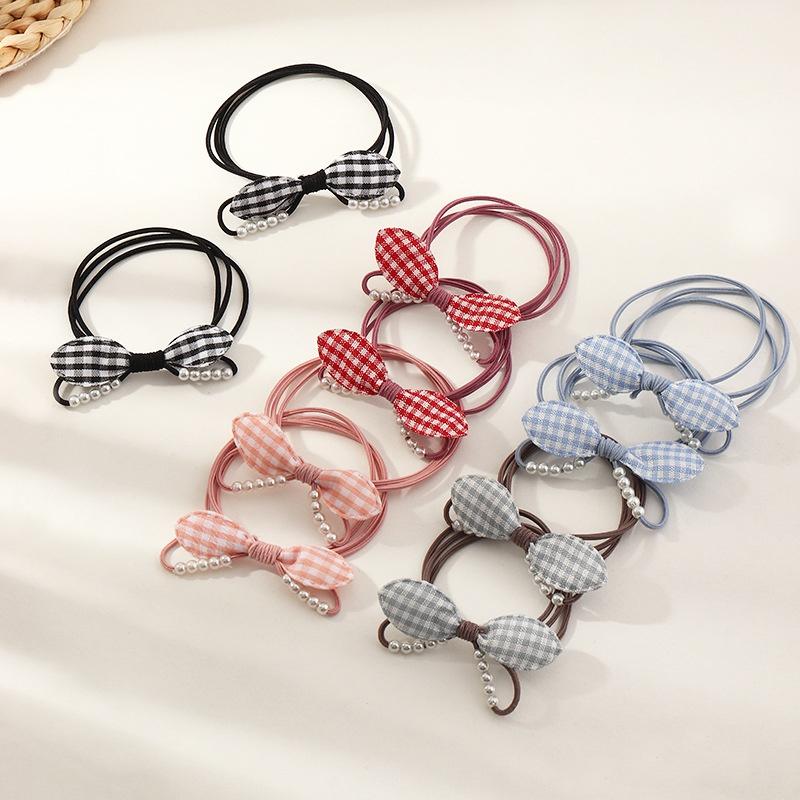 Children's Korean simple wild hair ring set NHNU307869