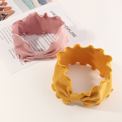 New korean wave knitted hairband set NHNU307872's discount tags