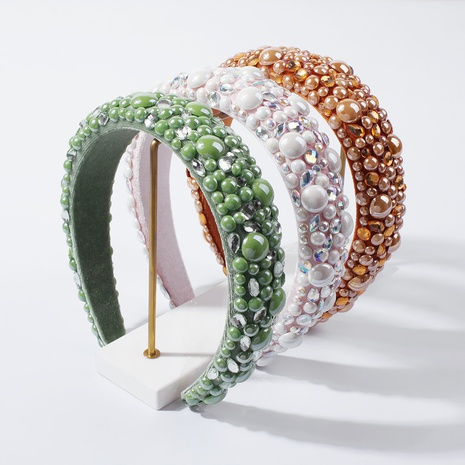 simple candy color fashion headband NHMD307874's discount tags