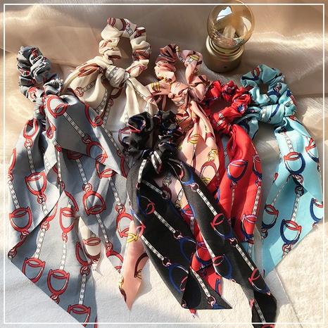 Scrunchies de pelo de cinta de moda retro elegante NHOF307880's discount tags