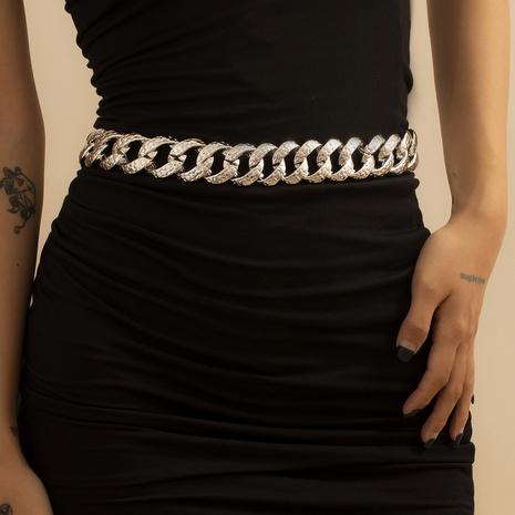 punk thick simple waist chain NHXR307907's discount tags
