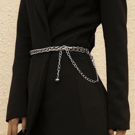 fashion retro simple waist chain NHXR307908's discount tags