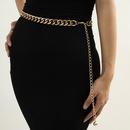 fashion drop ball leopard print waist chain NHXR307912