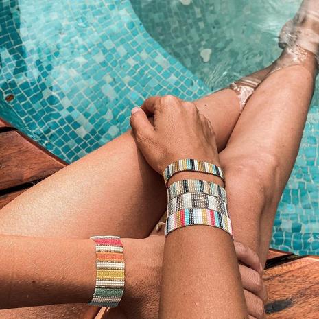 Miyuki Reisperlen handgewebtes böhmisches Retro-Armband NHGW307941's discount tags
