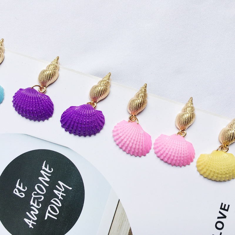 creative new fashion shell earrings  NHAI308037