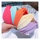 fluorescent color cross headband NHHD308041
