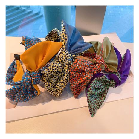 Blumen breites Retro Bogen Stirnband NHHD308044's discount tags