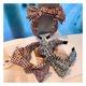 retro wide-brimmed floral bow fashion headband NHHD308048