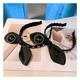 rhinestone letters rabbit ears headband NHHD308049