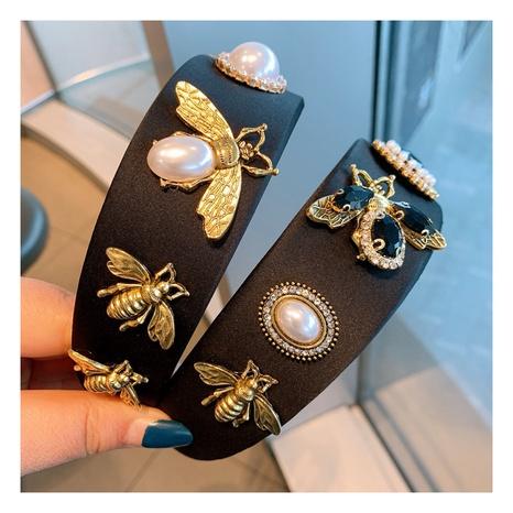 diadema de abeja con diamantes grandes barrocos retro NHHD308053's discount tags