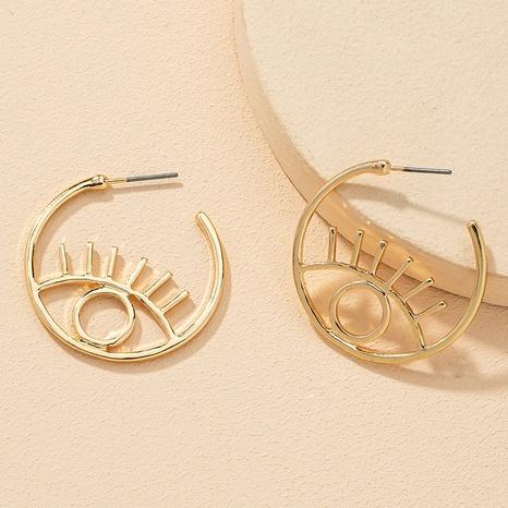 Augenohrringe aus Mode-Legierung NHGU308056's discount tags