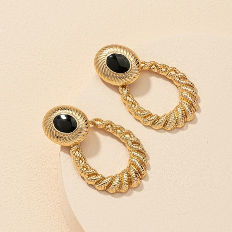 fashion metal fashion earrings wholesale NHGU308057's discount tags