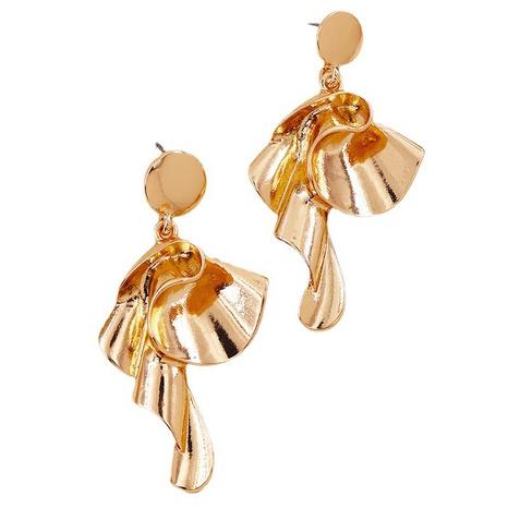 fashion flower alloy earrings  NHGU308072's discount tags
