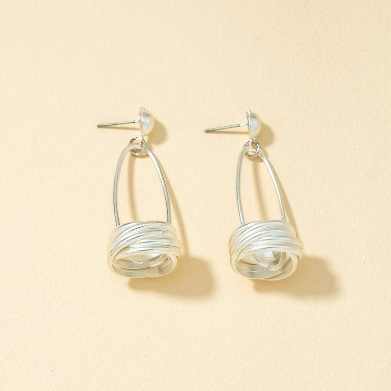 fashion geometric retro earrings  NHQJ308138