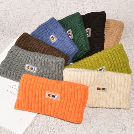 Bandeau coréen en peluche tricoté simple NHAQ308146's discount tags