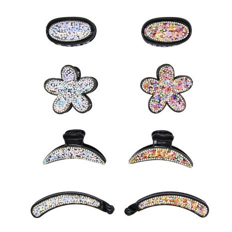 Clip de capture en épingle à cheveux en plastique à paillettes de mode simple NHBE308218's discount tags