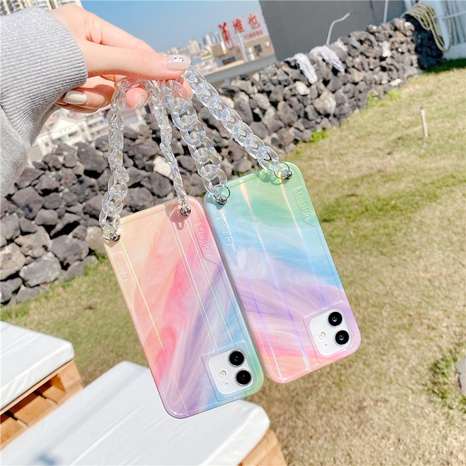 Étui pour téléphone portable Apple arc-en-ciel coréen pour iPhone7 SE2 NHFI308385's discount tags