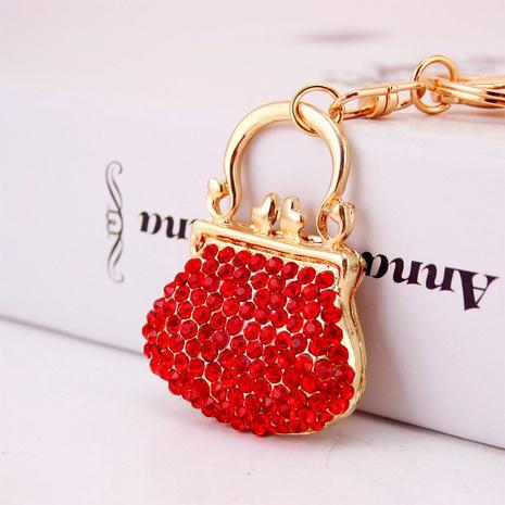 Porte-clés de sac à main en alliage strass NHAK308394's discount tags