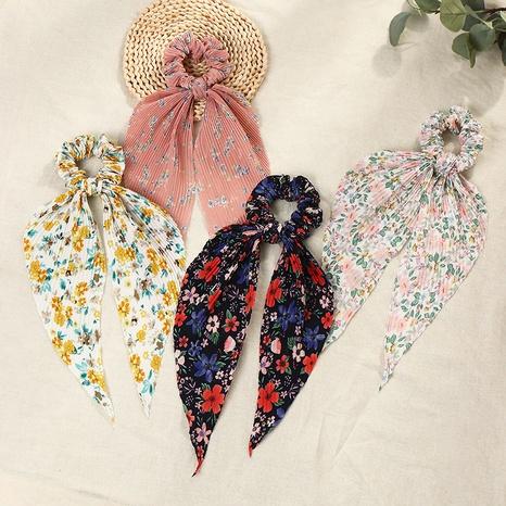 Scrunchies de pelo largo de flor de moda simple vendedora caliente NHAU308412's discount tags