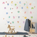 new cartoon preschool education 26 English letters wall stickers NHAF308450
