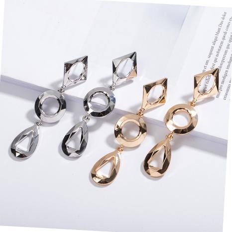 Metall modische einfache Ohrringe NHAI308460's discount tags
