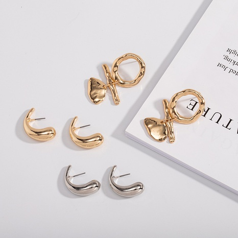 neue einfache Ohrringe NHAI308484's discount tags