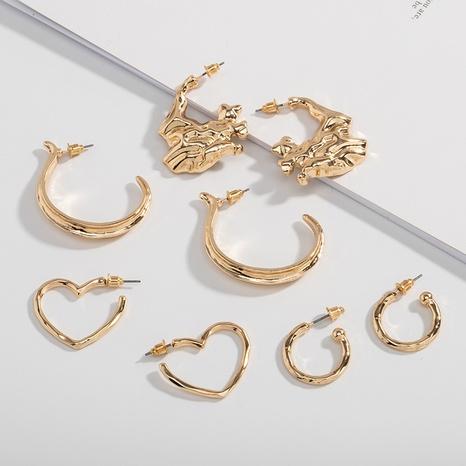 neue unregelmäßige Erz geometrische Ohrringe NHAI308503's discount tags
