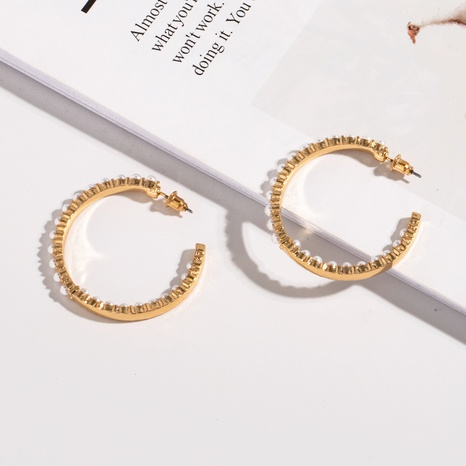 Mode C-förmige Ohrringe Großhandel NHAI308508's discount tags
